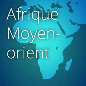 carte afrique moyen-orient