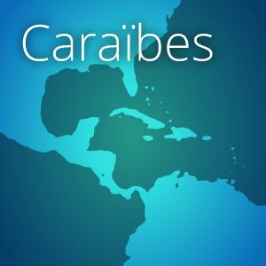 carte caraibes