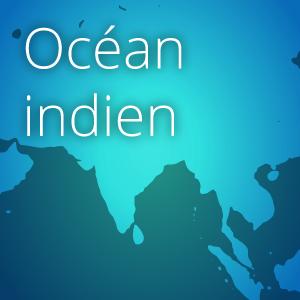 carte ocean indien